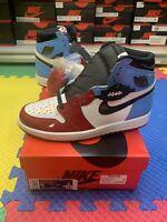 "Nike Air Jordan 1 Retro High OG ""Fearless"" UNC Chicago CK5666-100 Men Size 8"