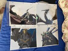 Vision Of Escaflowne 4 Guymelef Original Production Anime Cel Sketch Lot