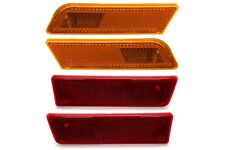 OEM NEW Front Rear Bumper Side Markers + Red Reflectors 10-13 Transit Connect
