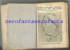 Futurismo I.SENESI-Bichilì ovverosia:telefono numero(Xx25)-30<1070.con autografo