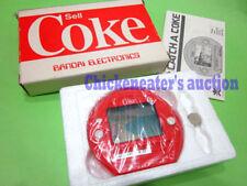 80s BANDAI CATCH A COKE COLA HANDHELD GAME WATCH *MIB NEW* GD VINTAGE RETRO JEU