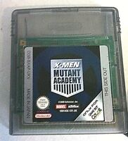 Nintendo Game Boy Color X Men Mutant Academy Handheld Video Games System Playing