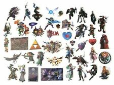 The Legend of Zelda Lot of 44 Sticker Decals
