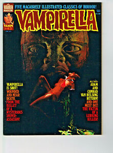 VAMPIRELLA #43 WARREN 1975 NM HORROR COMIC MAG RIBAS GARCIA GONZALEZ TORRENTS+