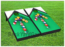 VINYL WRAPS  Cornhole Board DECALS Pool Billiard Bag Toss Game Stickers 298