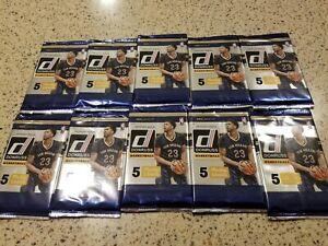 2016-17 Panini Donruss NBA Lot of 10 Factory Sealed Packs!  Top Rookie pulls?!📈