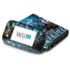 Skin Decal Cover for Nintendo Wii U Console & GamePad - Avengers