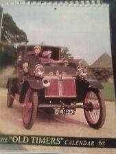 Old Timers Vintage Cars Calendar 1971.