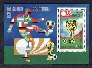 s5143) GUINEA ECUATORIAL 1974 MNH** WC Football -Coppa Mondo Calcio S/S