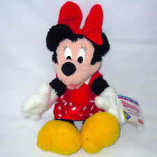Vtg 1999 Disney Fisher Price MINNIE MOUSE Plush Stuffed Toy Baby Infant 6+ Month