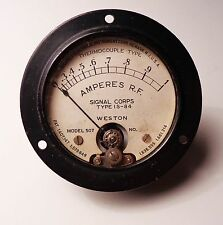 Weston 507 Signal Corps Amperes R.F. Meter