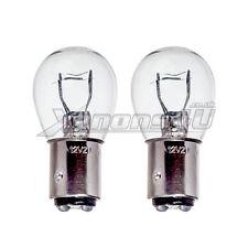 BAY15D P21/5W 1157 voiture arrière & frein stop lumière lampe ampoules en verre clair