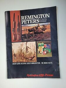 Vintage 1971 Remington Peters Magazine, Sporting Firearms, DuPont, Hunting, Guns