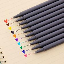 10 Pcs/set Colour Drawing Pen Sketch Pens Hook Line Pen Painting Pen Stationery