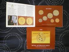 Australian 1986 Mint Coin Set, NEW UNCIRCULATED.