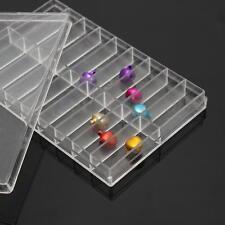 18 Grid Storage Case Box For Watch Pin Spring Bar Screw Jewelry Organizer Holder