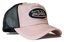 VON van DUTCH MESH TRUCKER BASE CAP [CLASSIC ROSA BLACK] MÜTZE BASECAP KAPPE HUT