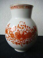 RRR RARE Antique Meissen  Germany  Porcelain Vase Hand Painted