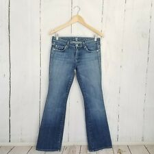 "7 for All Mankind ""A"" Pocket Jeans sz 28 Medium Wash Denim Inseam 31"" 7FAM Boot"