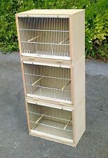 "3 x Single Canary Breeding Cage Cages 19""  ""MULTIBUY OFFER!!"