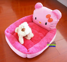 Pet Dog/Cat Bed Doghouse Kennel Doghole House Cotton Soft Puppy Doggie Small
