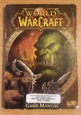 World of Warcraft Vaniglia classico gioco originale manuale Blizzard Entertainment
