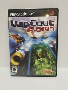 WIPEOUT FUSION Playstation 2 PS2 Complete CIB w/ Box, Manual Good