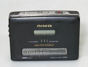 Aiwa HS-JX859 Stereo Cassette Recorder Walkman RARE (player only)