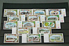 ANGUILLA 1970 - DEFINITIVES - LONG SET OF 15 - ALL UNMOUNTED MINT