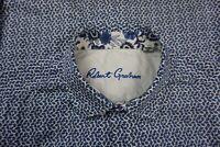 Robert Graham Mens Medium Blue Shell Button down shirt Short Sleeve Size M