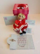 MARIE OSMOND SANTA BABY TINY TOT PORCELAIN DOLL COA #3961 MINT COND PRE-OWNED