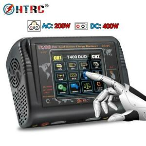 HTRC T400 DC 400W AC 200W RC Lipo Battery Banlance Charger 12A*2 Discharger