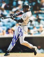 Ken Griffey Jr HOF Signed Auto Autographed 8x10 Photo Seattle Mariners