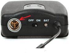 Shure rpw270 pcb input connector mini xlr 4pin x  Shure ulx 1  bodypack