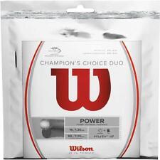 Wilson Champions Choice Duo string, 1 set pk  Hybrid-1/2 Nat.gut,1/2 Alu rough,