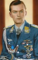 WW2 Picture Photo German Luftwaffe Pilot Iron Cross 3306