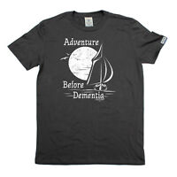 Sailing T-Shirt Funny Novelty Mens tee TShirt - Adventure Before Dementia