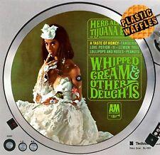 "Herb Alpert Whipped Cream Slipmat Turntable 12"" LP Record Player, DJ Audiophile"