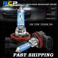 2 x 12V H8 35W 5500K White Fog Light Super Bright Car Xenon Halogen Headlight