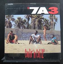 "The 7A3 - Coolin' In Cali / That's How We're Livin' / Groovin' 12"" VG+ 0-21069"