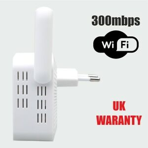 Wifi Range Extender Repeater Wireless Router Range Signal Booster 2.4GHz DS Bran
