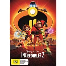 Incredibles 2 DVD R4 2018 New & Sealed Disney Pixar