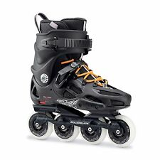 Rollerblade 2017 Twister 80 Men's Black/Orange Inline Skates UK 11