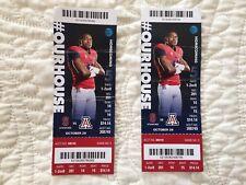 2016 Football Game Ticket Stub Arizona vs Stanford
