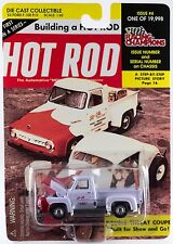 Racing Champions Hot Rod Magazine #4 '53 Ford F-100 Pickup New On Card 1998