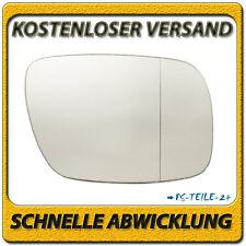 Spiegelglas für VW TOUAREG 2002-2006 rechts Beifahrerseite asphärisch