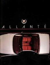 1988 Cadillac Allante Sales Brochure Literature Dealer Advertisement Options NOS