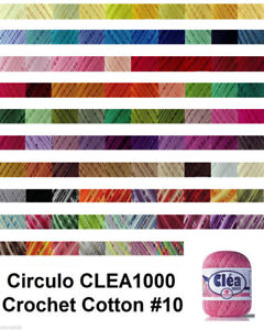 Circulo CLEA1000 155g 1000m Crochet 100% Cotton Knitting Thread Yarn #10