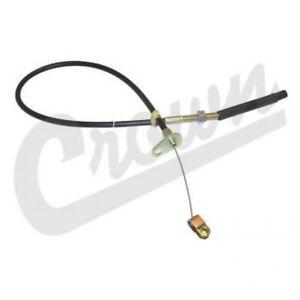 Accelerator Cable fits Jeep CJ5 CJ6 1966-1971 J0942597 Crown