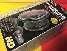 RAYNOX HDP-2800ES 0.28x Fisheye Lens JVC 37mm 43mm 52 GZ-MG880 MG840 MS120 MS130